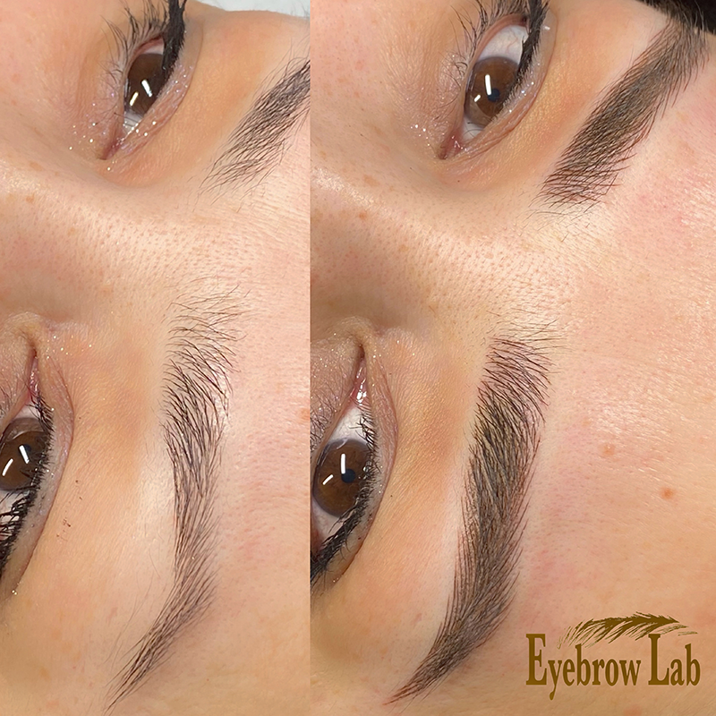 Beautiful Microblading eyebrows